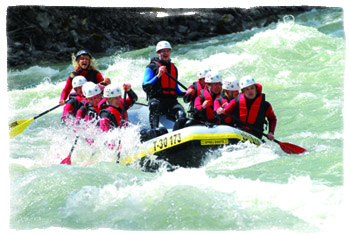 Rafting in Tirol